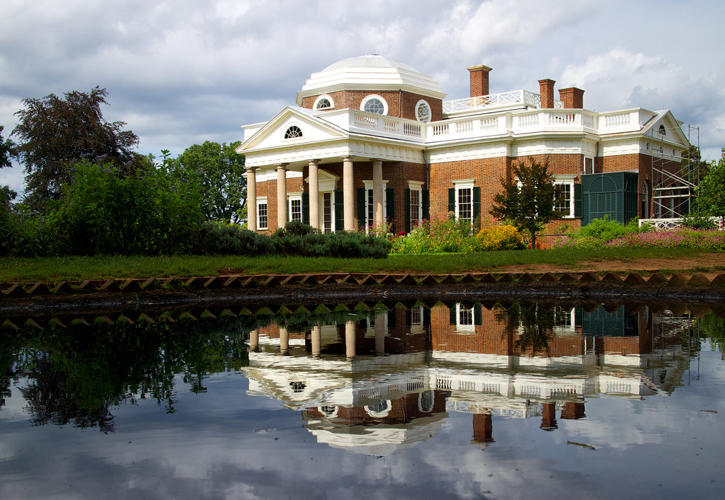 Jefferson's home of Monticello was home to America's first vineyard
